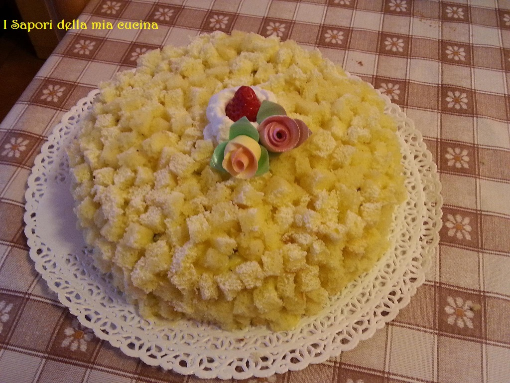 torta mimosa primaverile