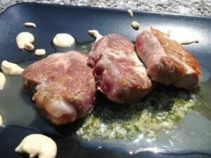 filetto di maiale senape