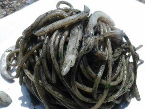 spaghi seppie nero