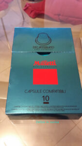 Capsule compatibili Nespresso® - 10 pezzi - DECAFFEINATO